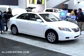 toyota camry hybrid 2008 toyota photographs and toyota technical data all car central