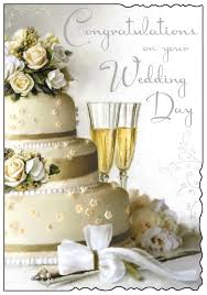 wedding day congratulations congratulations on your wedding day card www dizzyduckspar