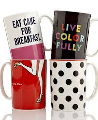wedding registry new york kate spade new york mugs collection macy s bridal and wedding