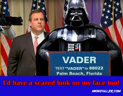 Meme Chris - know it all joe s sunday political meme vader style know it