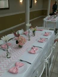 baby shower table settings my sister s baby shower table setting party ideas pinterest