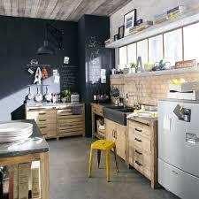 meuble bas evier cuisine meuble bas de cuisine avec évier en pin recyclé l90 maisons du monde