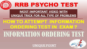 information ordering test common trick for all problem youtube