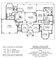 A Frame House Plans Free by Plan No 3722 0109