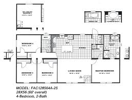 100 3 bedroom double wide floor plans the lincoln by