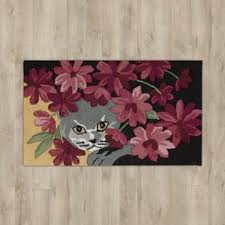 themed rug cat themed rugs wayfair