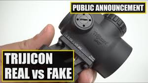 How To Spot Fake Trijicon Rmr And Mro Red Dot Sights Omaha