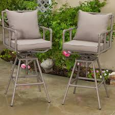 northrup pipe outdoor adjustable barstool set of 2 walmart com