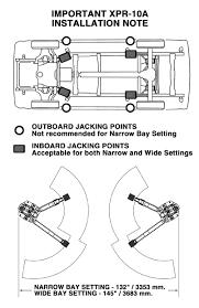 bendpak xpr 10as two post lift 10 000 lb capacity asymmetric