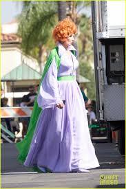 lady gaga dressed normal for halloween justin bartha u0026 ellen barkin u0027new normal u0027 halloween episode