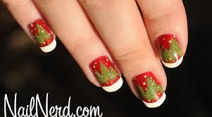 nail nerd nail art for nerds o tannenbaum nails