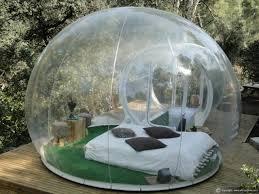 chambres bulles attrap rêves un hôtel insolite au milieu de la nature hotel