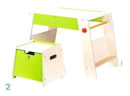 bureau tableau tableau bureau enfant 2kit tabouret et plateau de jeu hape