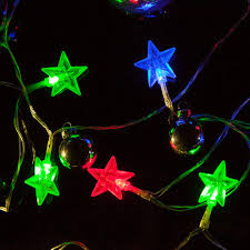 battery operated star lights red green blue battery operated star light led lights wintergreen