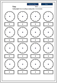 worksheets telling time mreichert kids worksheets