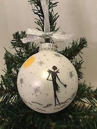 the nightmare before moon skellington ornament
