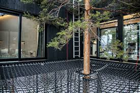 tree hotel sweden this treehouse hotel in isolated lapland forest lets you sleep under