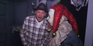 krampus on halloween michael dougherty david koechner on walking