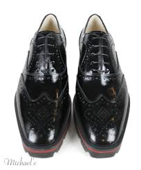 christian louboutin black patent leather shoes michael u0027s