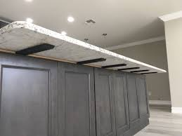 kitchen cabinet lighting brackets island support bracket island countertops