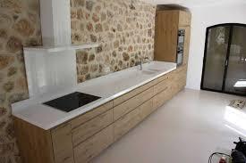cuisine blanche plan de travail bois cuisine blanche plan de travail bois 2017 et cuisine blanche plan