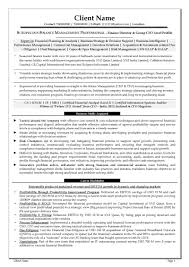 ceo resume example free resume samples free cv template download free cv sample finance director group cfo level profile page 1