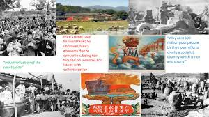 mao u0027s great leap forward failed to improve china u0027s economy due to