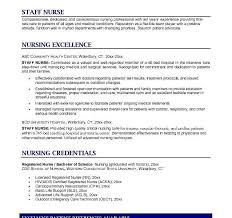 Objectives For Nursing Resume Sample Icu Nurse Resume Critical Care Rn Resume Sample