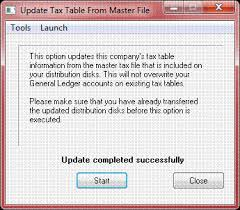 Irs Tax Withholding Tables Data Pro Payroll Tax Table Updates