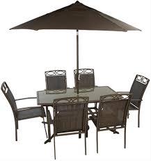 6 Seater Patio Furniture Set - leisuregrow west virginia 6 seater stacking garden furniture set