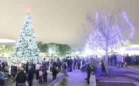 conroe christmas tree lighting kicks off holiday season the courier