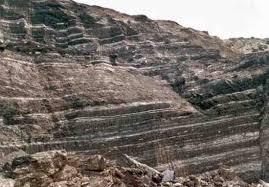 Lignite layers