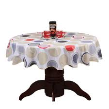 plastic table covers for weddings pastoral round table cloth pvc plastic table cover flowers printed