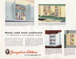 Metal Kitchen Cabinet 13 Pages Of Youngstown Metal Kitchen Cabinets Retro Renovation
