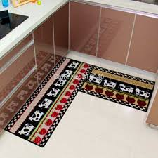 Red Runner Rug Bathroom Scenic Vintage Style Kitchen Rugs And Didnt Actual Red