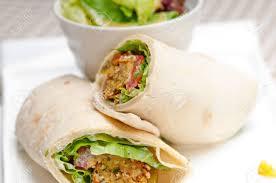 arabic wrap falafel pita bread roll wrap sandwich traditional arab middle