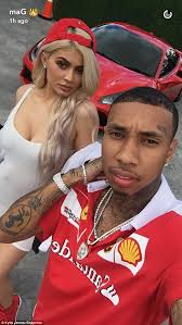 kylie jenner and tyga throw ferrari themed birthday party for his