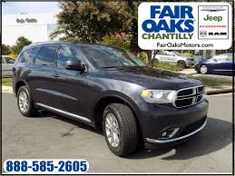 jeep durango 2016 fair oaks chantilly chrysler jeep dodge ram vehicles for sale in