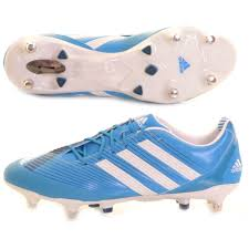 s rugby boots uk adidas predator incurza axt rugby boot blue and white 170 at