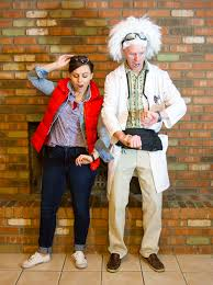 annual couple u0027s halloween party 2014 doc brown marty mcfly and