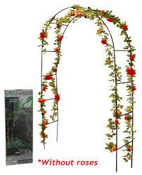 28 garden arch for climbing plants rose arch green metal