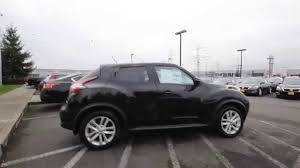 nissan black 2015 nissan juke sl black ft551622 kent tacoma youtube