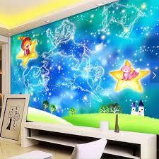 Wall Mural Childrens Bedroom Online Get Cheap Kids Bedroom Wallpaper Aliexpress Com Alibaba