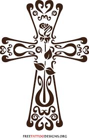 tribal cross design spiritual inspiration