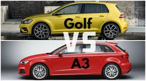 vw golf audi a3 2017 volkswagen golf vs audi a3