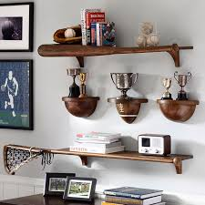 Pottery Barn Shelf With Hooks Sport Shelving Pbteen