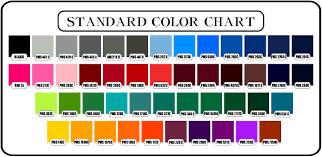 standard color code dolgular com