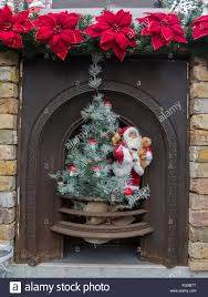Garden Centre Christmas Decorations Fireplace Christmas Holly Stock Photos U0026 Fireplace Christmas Holly