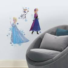 roommates frozen anna elsa and olaf peel and stick giant wall roommates frozen anna elsa and olaf peel and stick giant wall decals