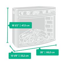 sauder select curved electric fireplace converter kit 418739